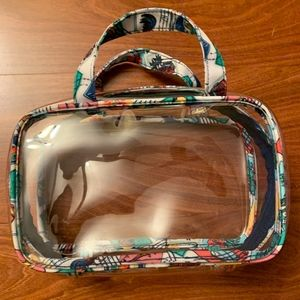 Cuban Stamps Toiletry Bag